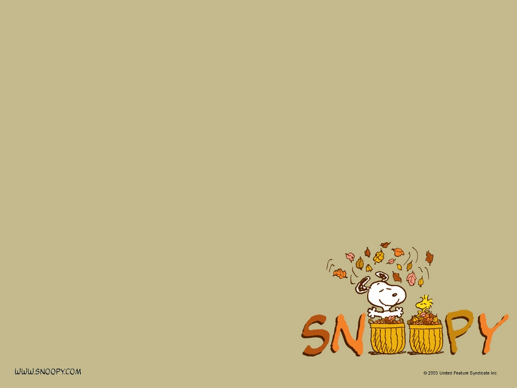 Wallpaper Snoopy en otop 1024x768