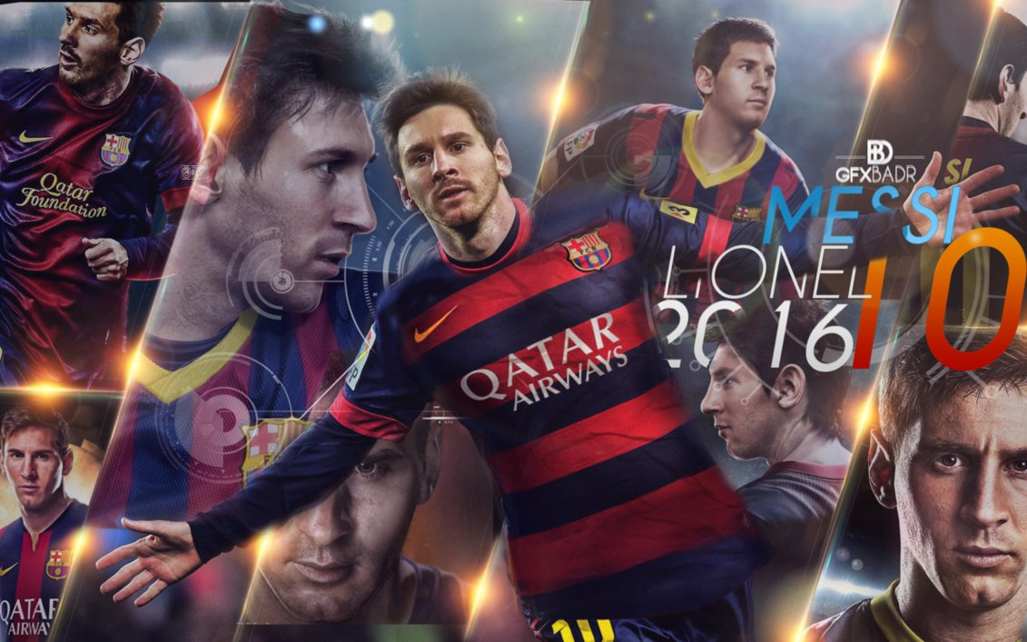 Wallpaper Messi New 2016 by Badr DS 1131x707