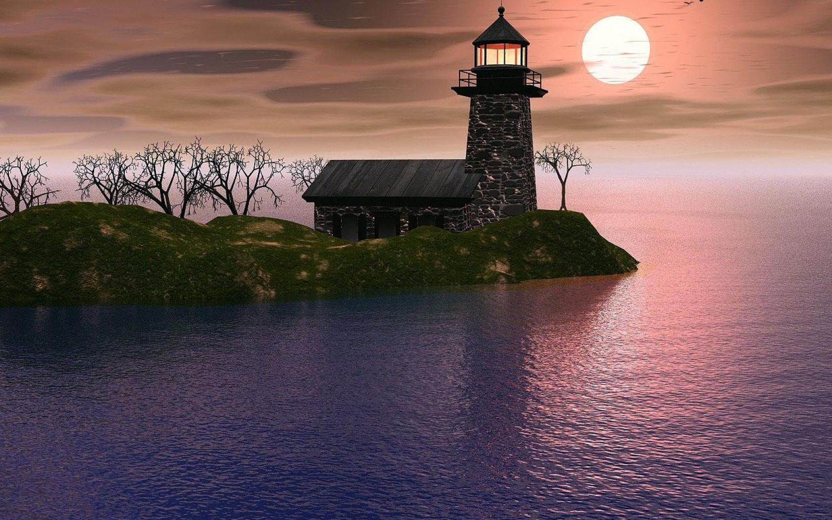 Windows 10 Lighthouse Wallpaper Wallpapersafari