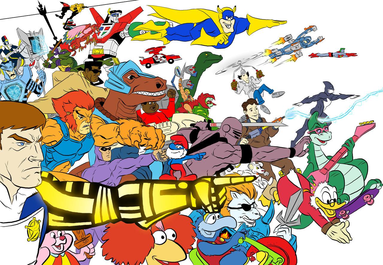 80S Cartoons 23 Desktop Background   Hivewallpapercom 1280x884