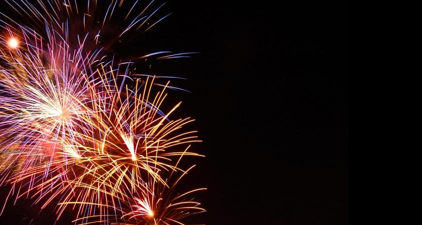 Fireworks Background -...
