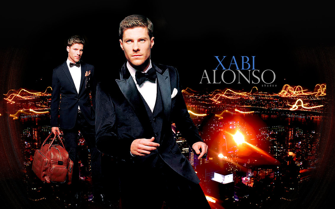 Wallpaper Xabi Alonso by shad designs 1131x707