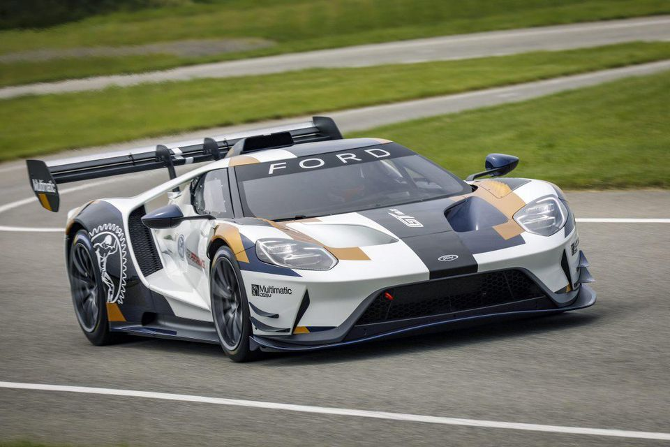 Ford GT Mark II Is Too Crazy Fast For Ordinary Roads Too Pricey 960x640