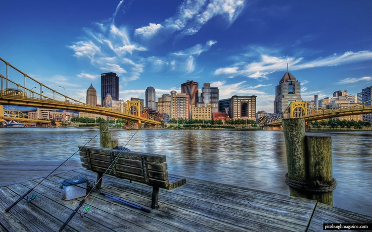 Pittsburgh Wallpaper Lazy Sunday   iPad iPhone Android Wallpaper 736x460