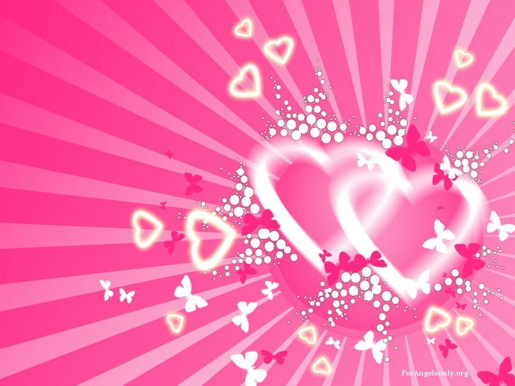 Wallpaper Desk Heart love background wallpaper hearts loveWallpaper 1024x768