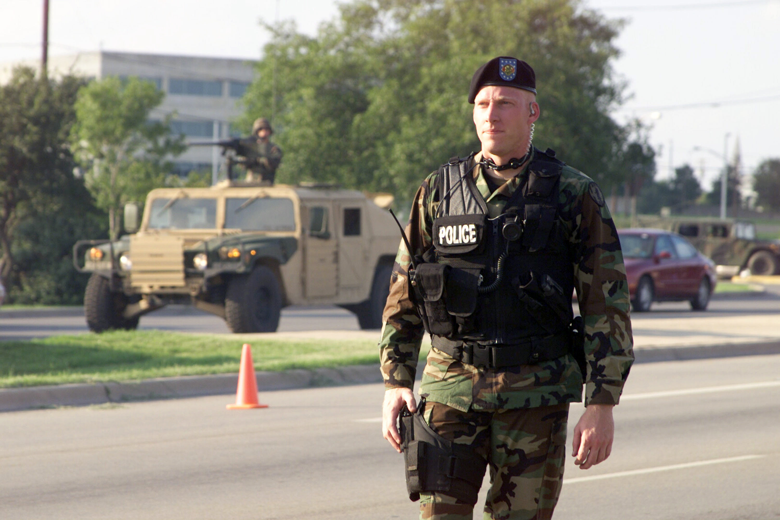 military police Military police definition: the military police are the part of an army, navy , or air force that act as its police | meaning, pronunciation, translations and examples.