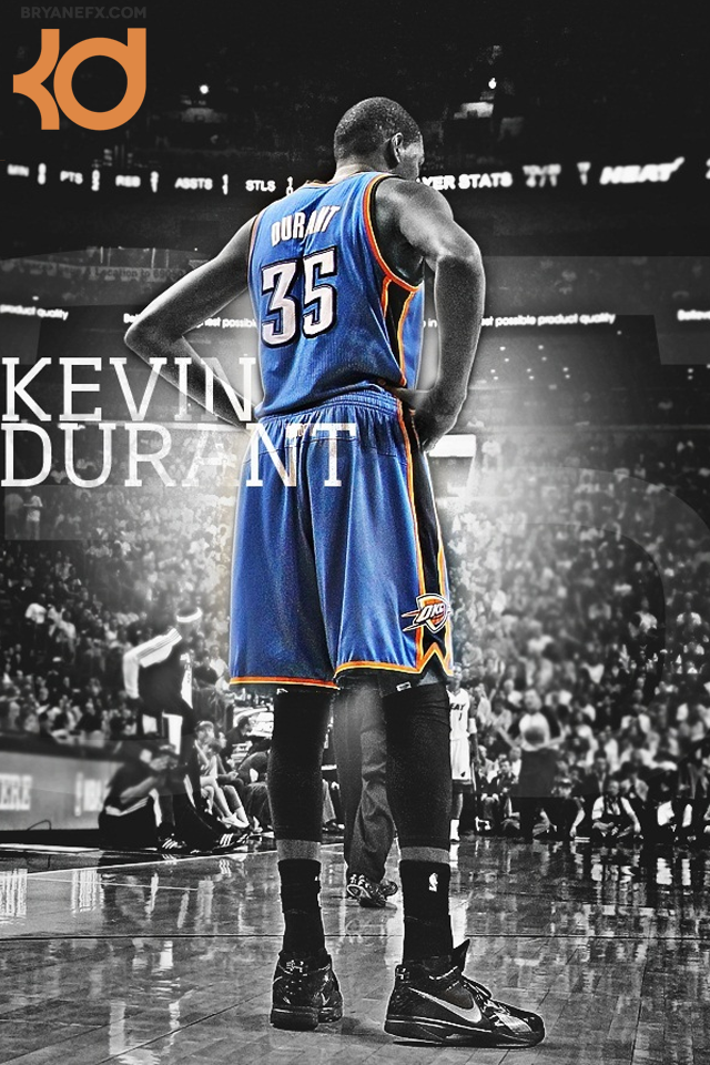 BRYANEFX Kevin Durant iPhone Backgrounds 640x960