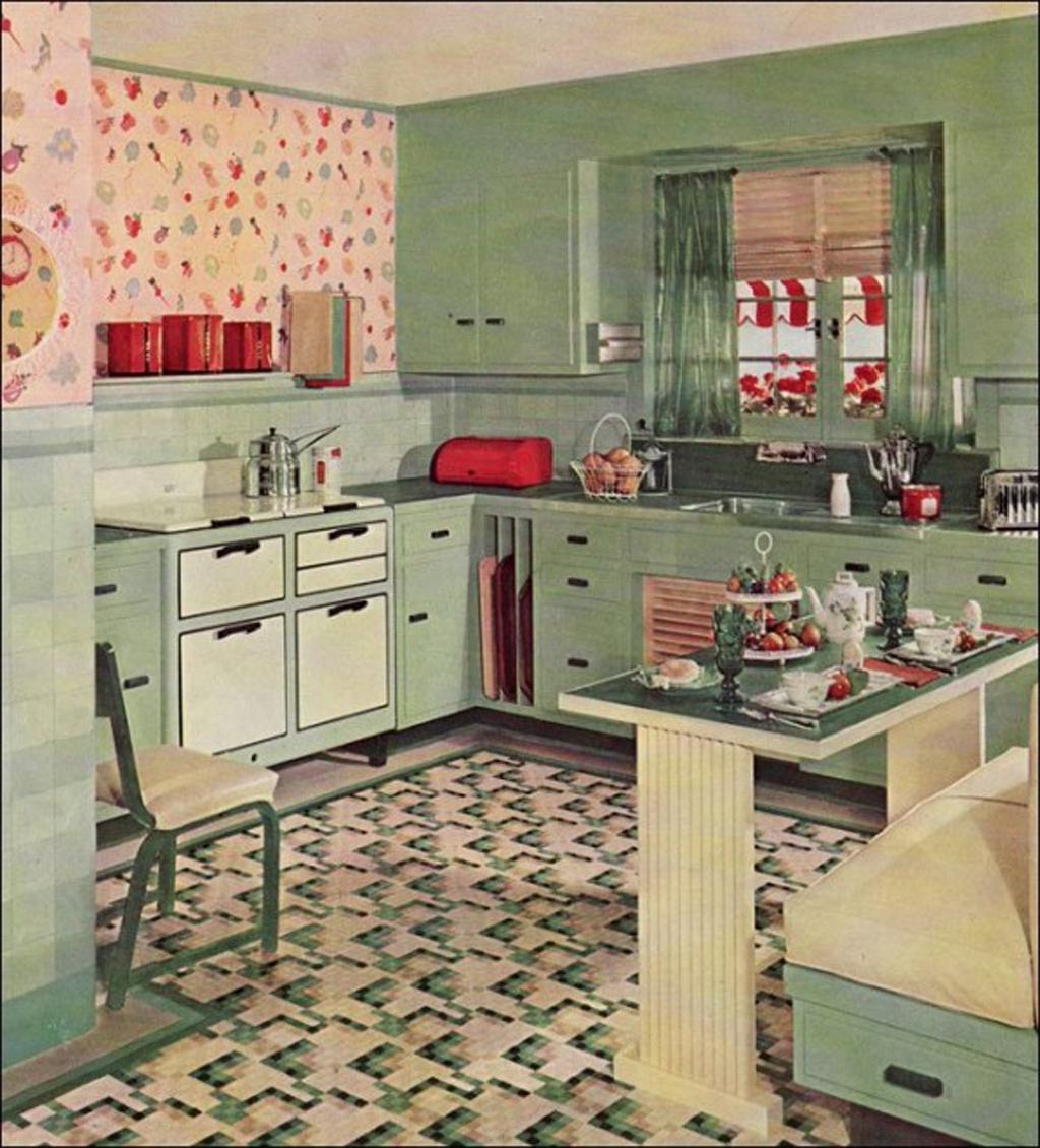 Free Download Vintage Kitchen Idea Vintage Kitchen