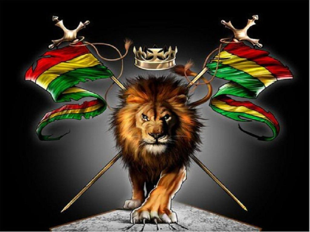 Rasta Lion Wallpaper - WallpaperSafari