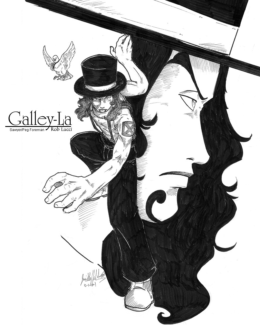 Galley La Foreman Rob Lucci by Kalei   Fanart Central 886x1106