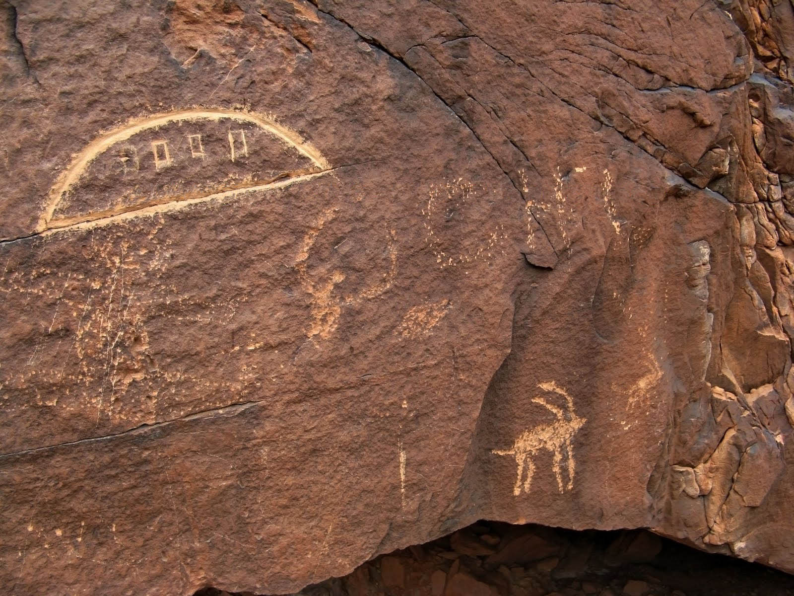 Most of these UFOs in ancient art are sacred or religious in nature This is quite ironic as a core belief of ancient astronaut theory in that there is nothing spiritual going on during these ancient extraterrestrial visitations