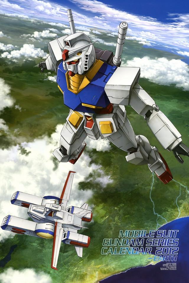 Gundam iPhone HD Wallpaper Wallpapers Photo 640x960
