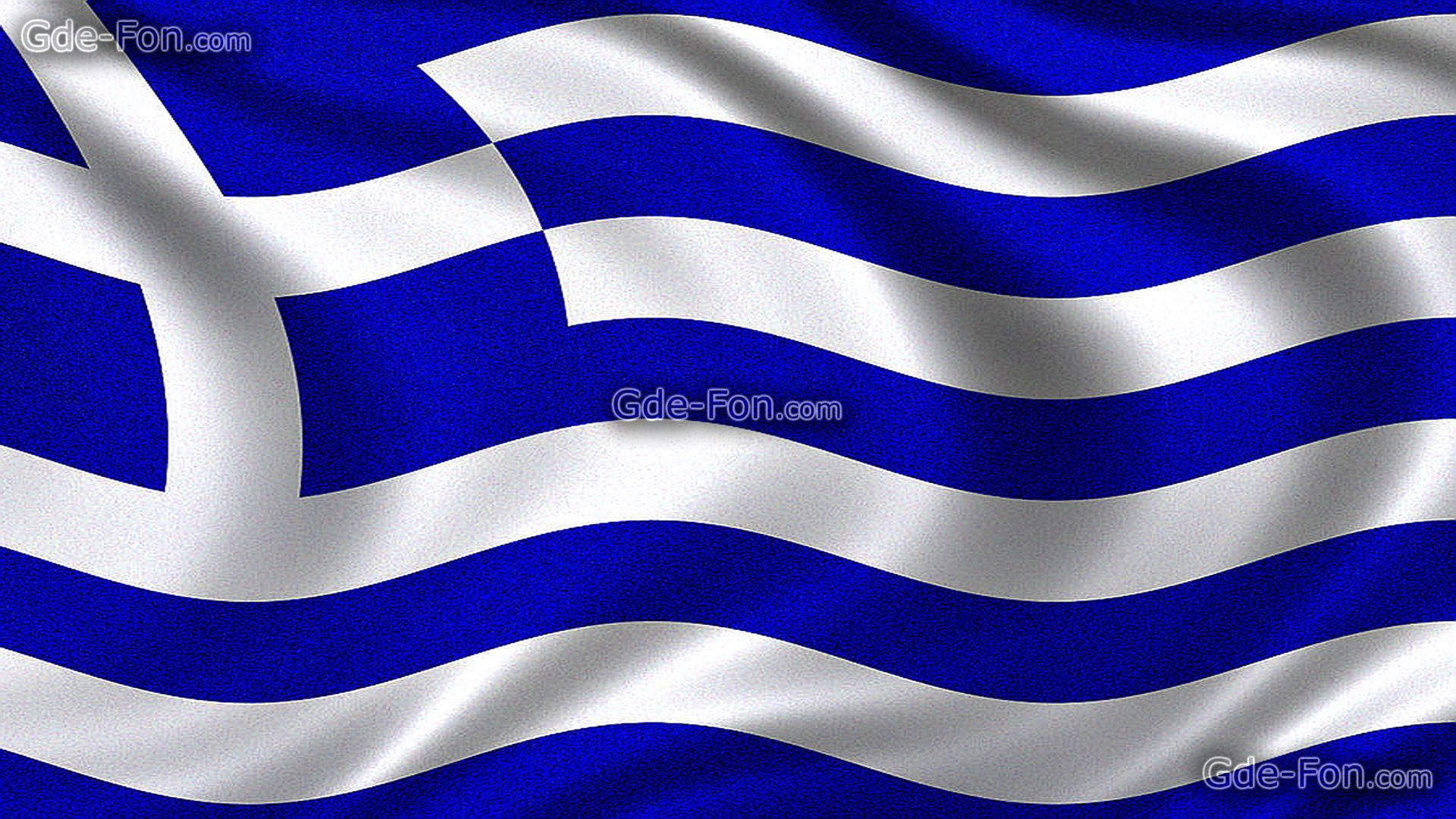 Download wallpaper Flag of Greece Greek flag Hellenic Republic 1920x1080