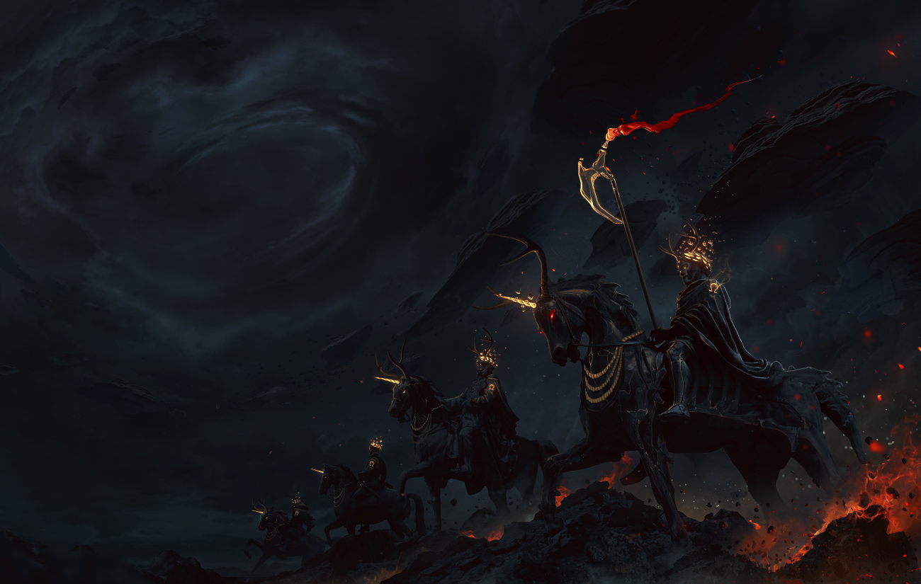 The 4 horsemen of the Apocalypse wallpapers 1300x825