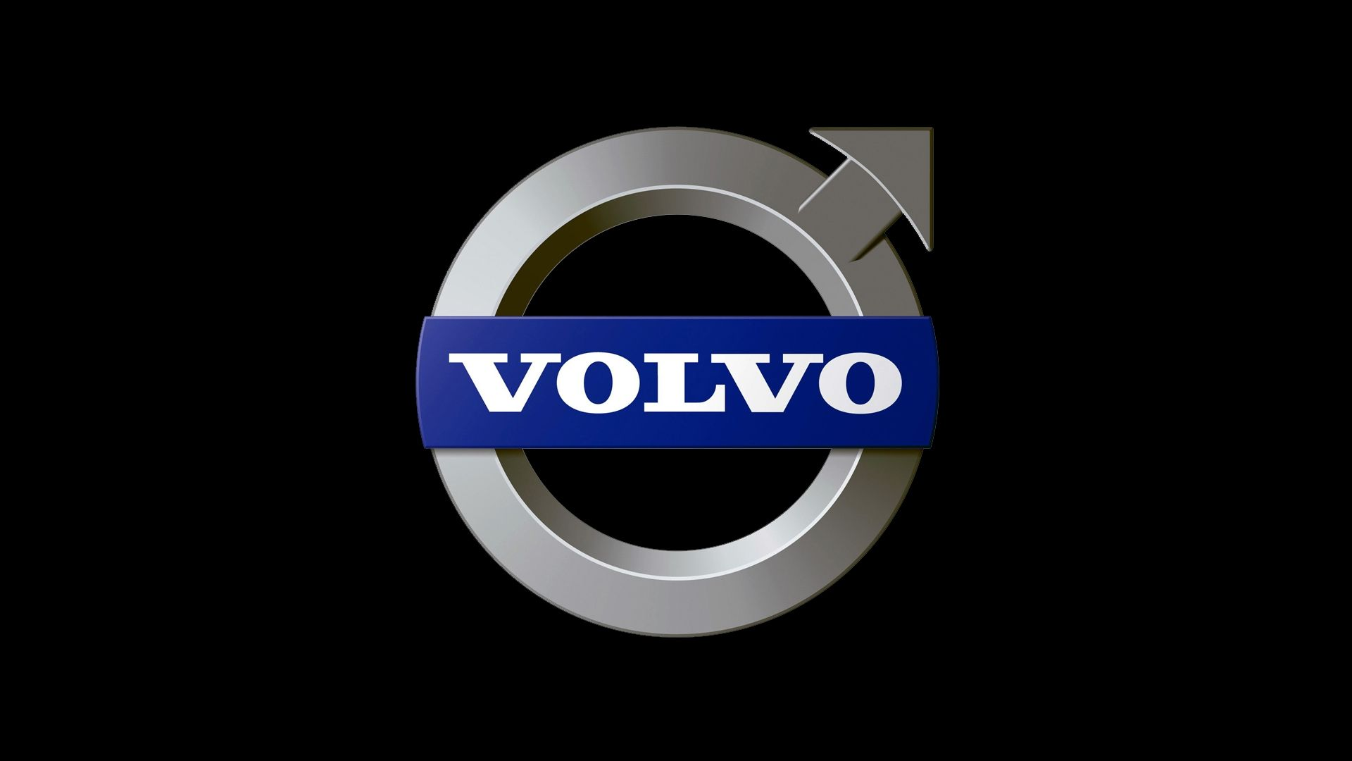 Volvo Logo Wallpaper Full HD ARO Cars 1920x1080