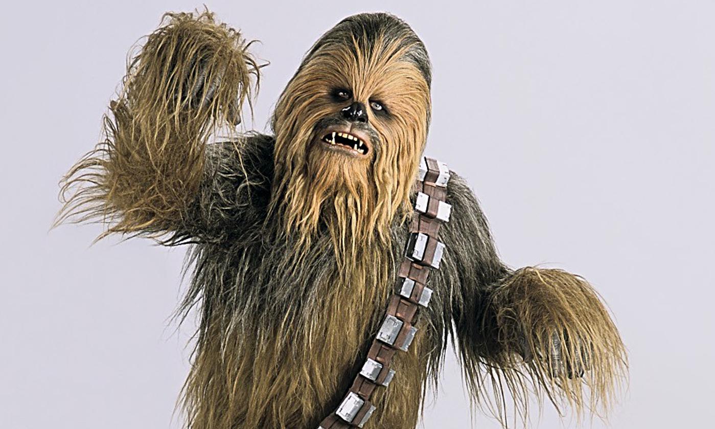 Chewbacca the Wookiee Peter Mayhew 1399x839