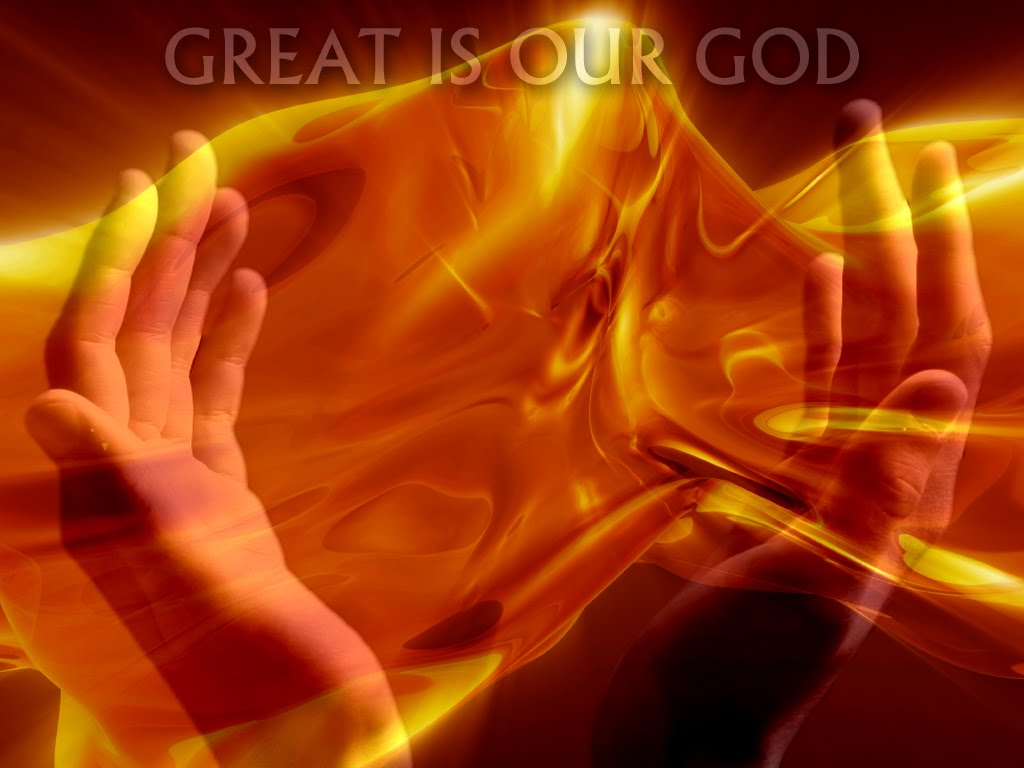 Great is our God Wallpaper   Christian Wallpapers and Backgrounds 1024x768