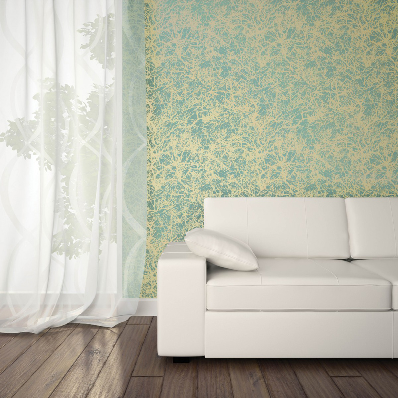 Forest Ocean Gold Removable Wallpaper by Tempaper 800x800