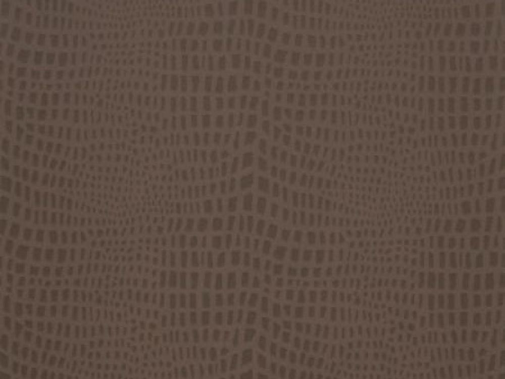 Delivery on Strike Espresso Brown Crocodile Skin Wallpaper 1000x750