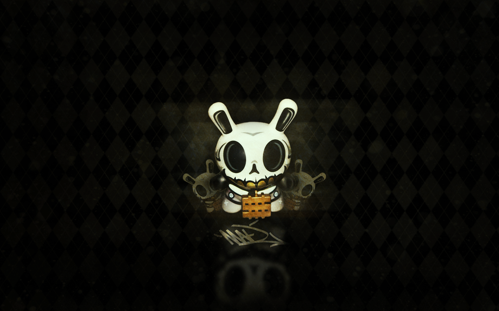 Kid robot wallpaper wallpapersafari kidrobot discussion boards view topic mad dunny wallpaper voltagebd