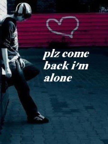 WALLPAPER ON THE NET Plz Come Back Im Alone 450x600