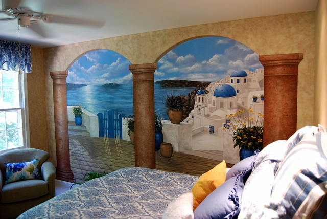 wall mural greece wallpapers trendingspace 640x428