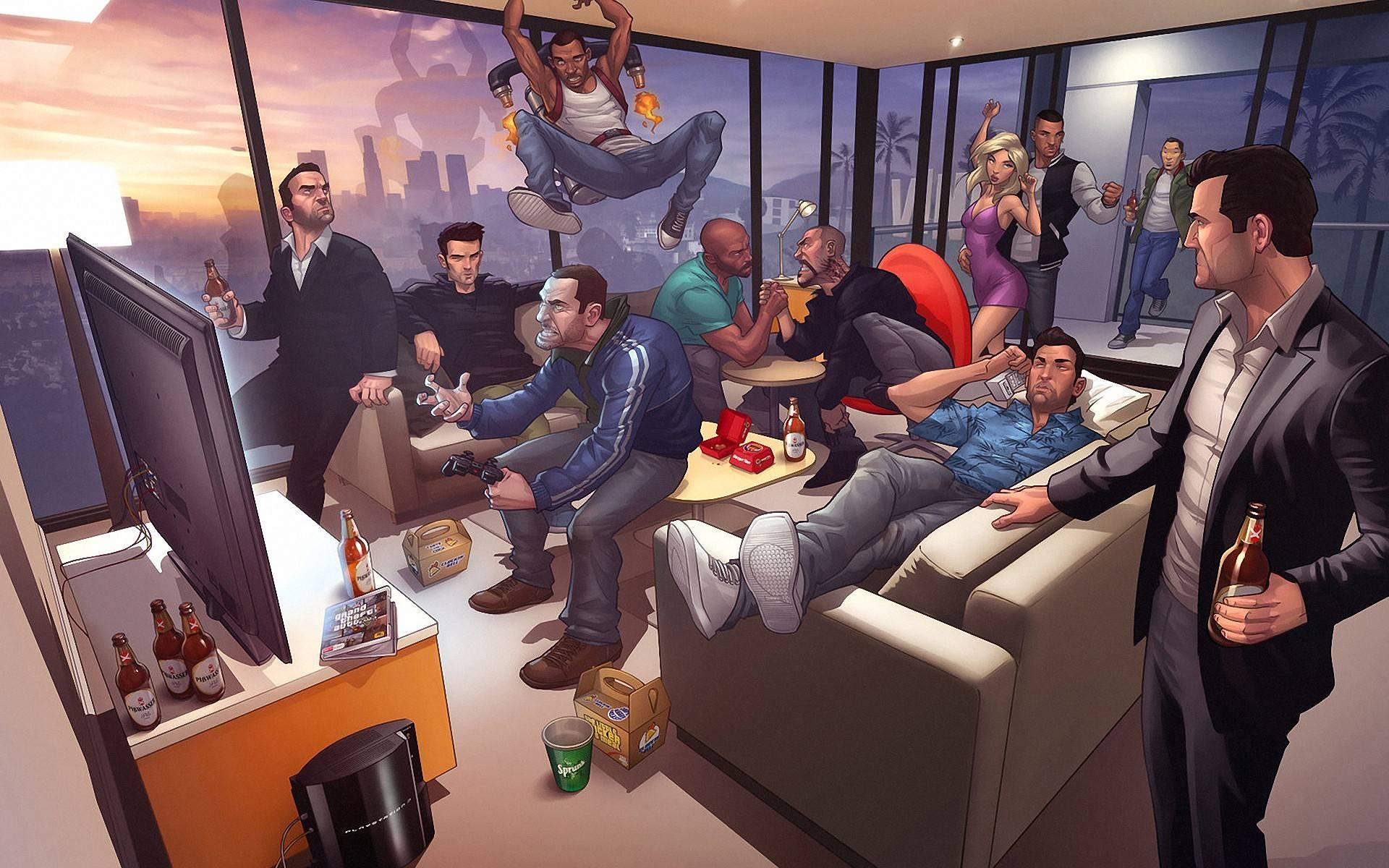GTA IV   Wallpaper   Grand Theft Auto Wallpaper 1920x1200