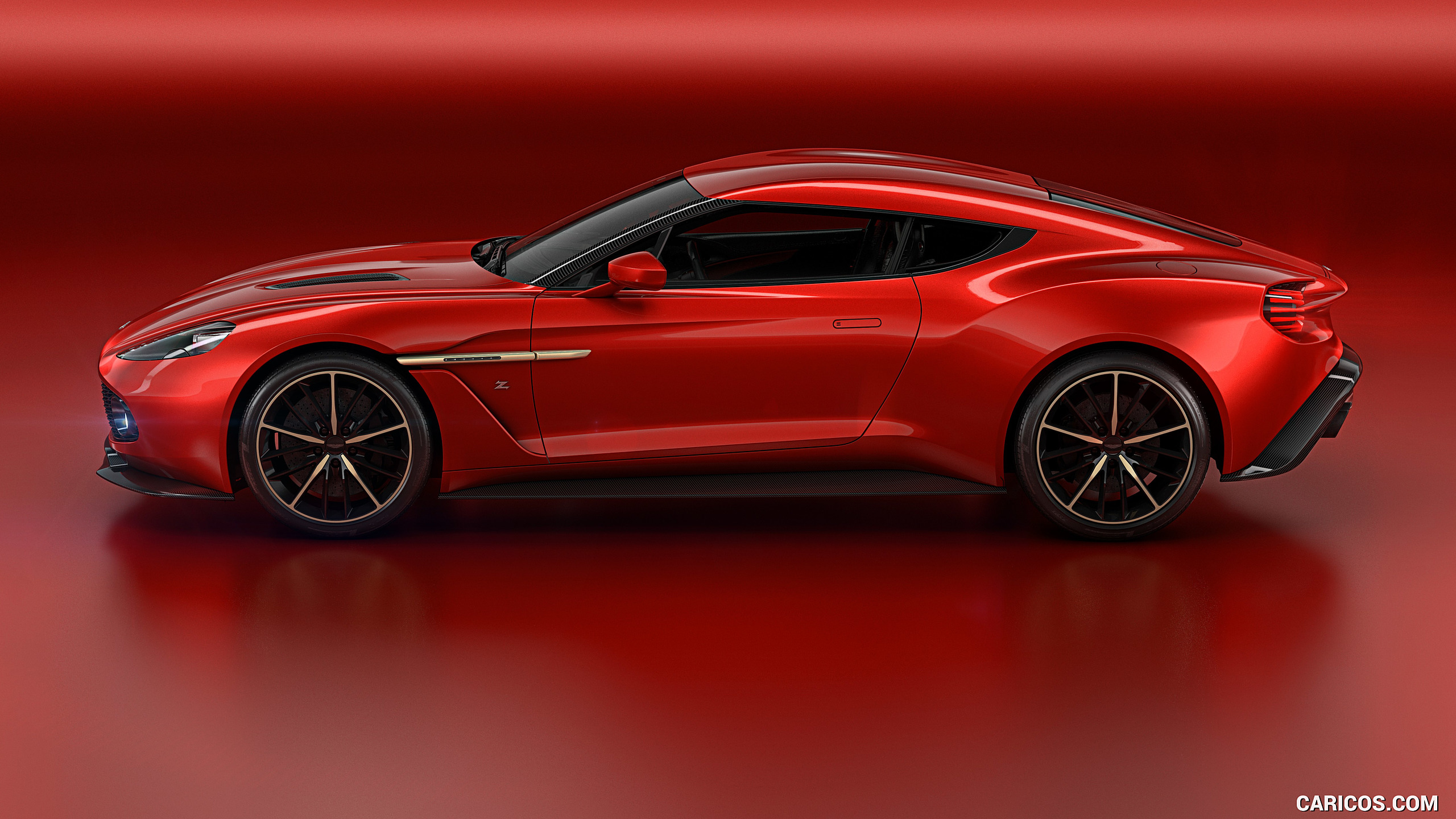 2016 Aston Martin Vanquish Zagato Concept   Side HD Wallpaper 5 2560x1440