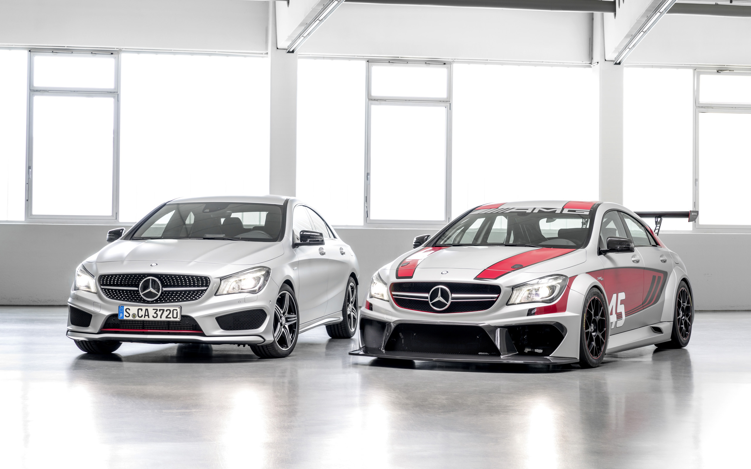 2014 Mercedes Benz CLA 45 AMG Racing Series Wallpaper HD Car 2560x1600