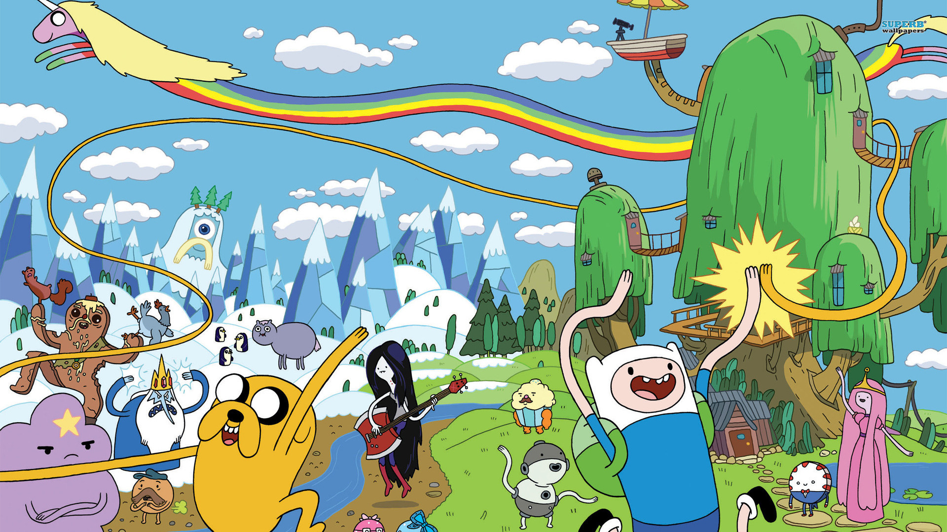 Adventure Time Wallpapers HD Wallpapers Early 1920x1080
