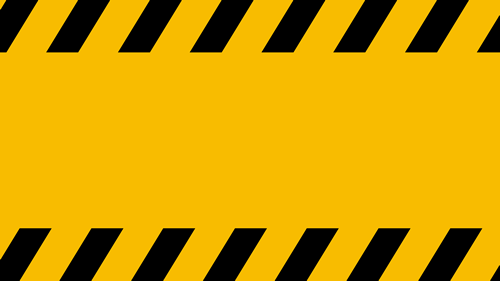 Dangerous and yellow keep off feel background wallpaper 500x281