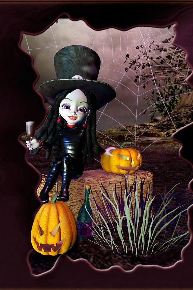 Cute Halloween iPhone Wallpaper  WallpaperSafari