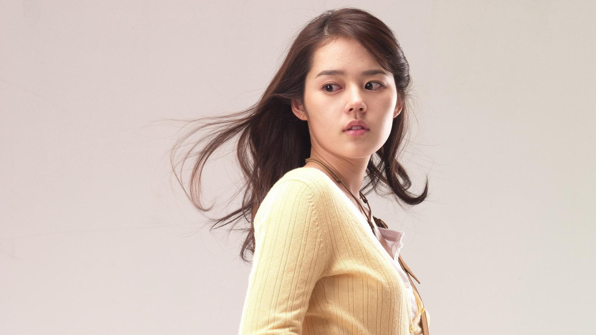 download Korean female star wallpaper beautiful girl modern 1920x1080