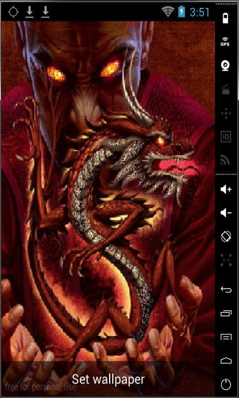 Download Dragon Master Live Wallpaper Free For Your Android Phone