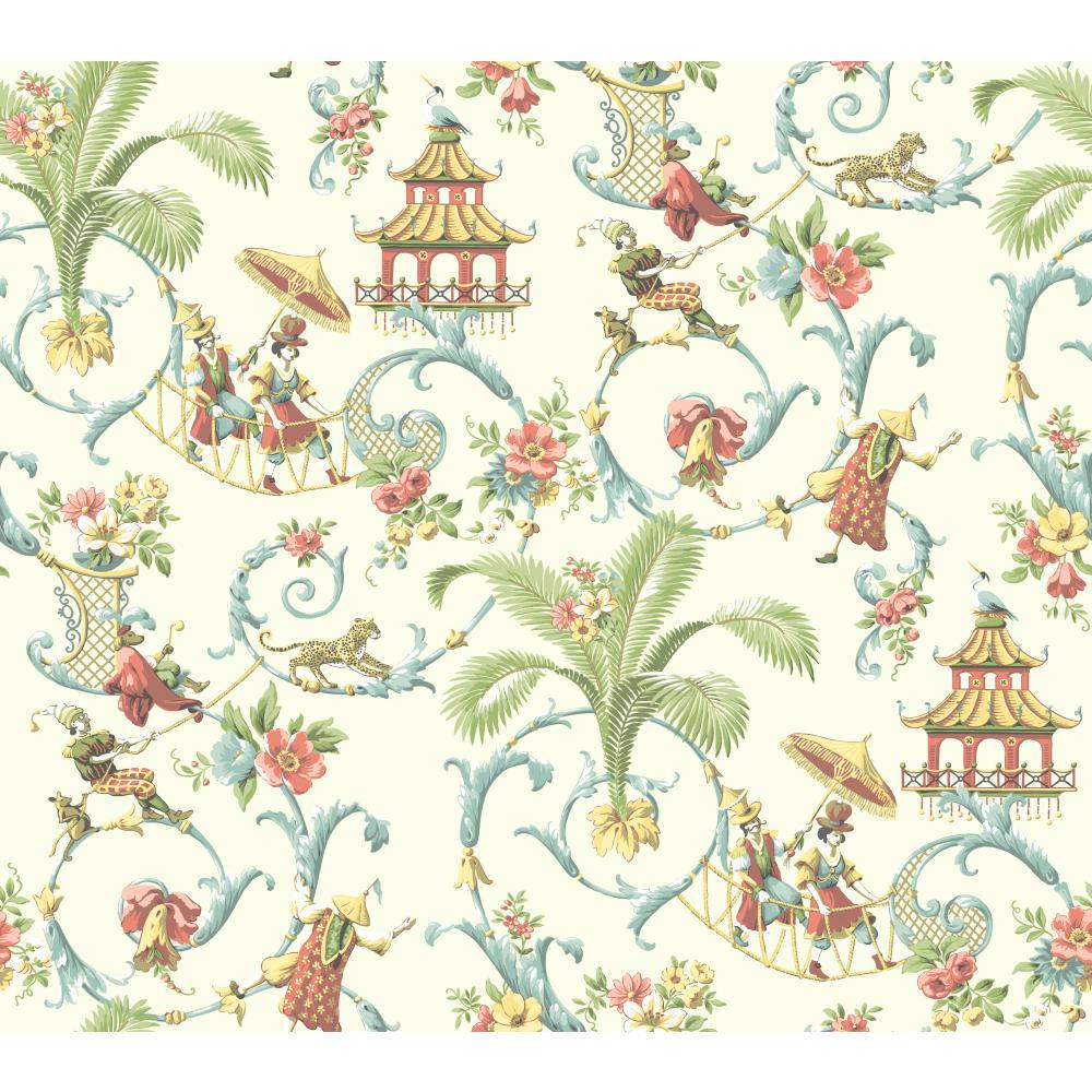 47 Waverly Wallpaper Floral On Wallpapersafari