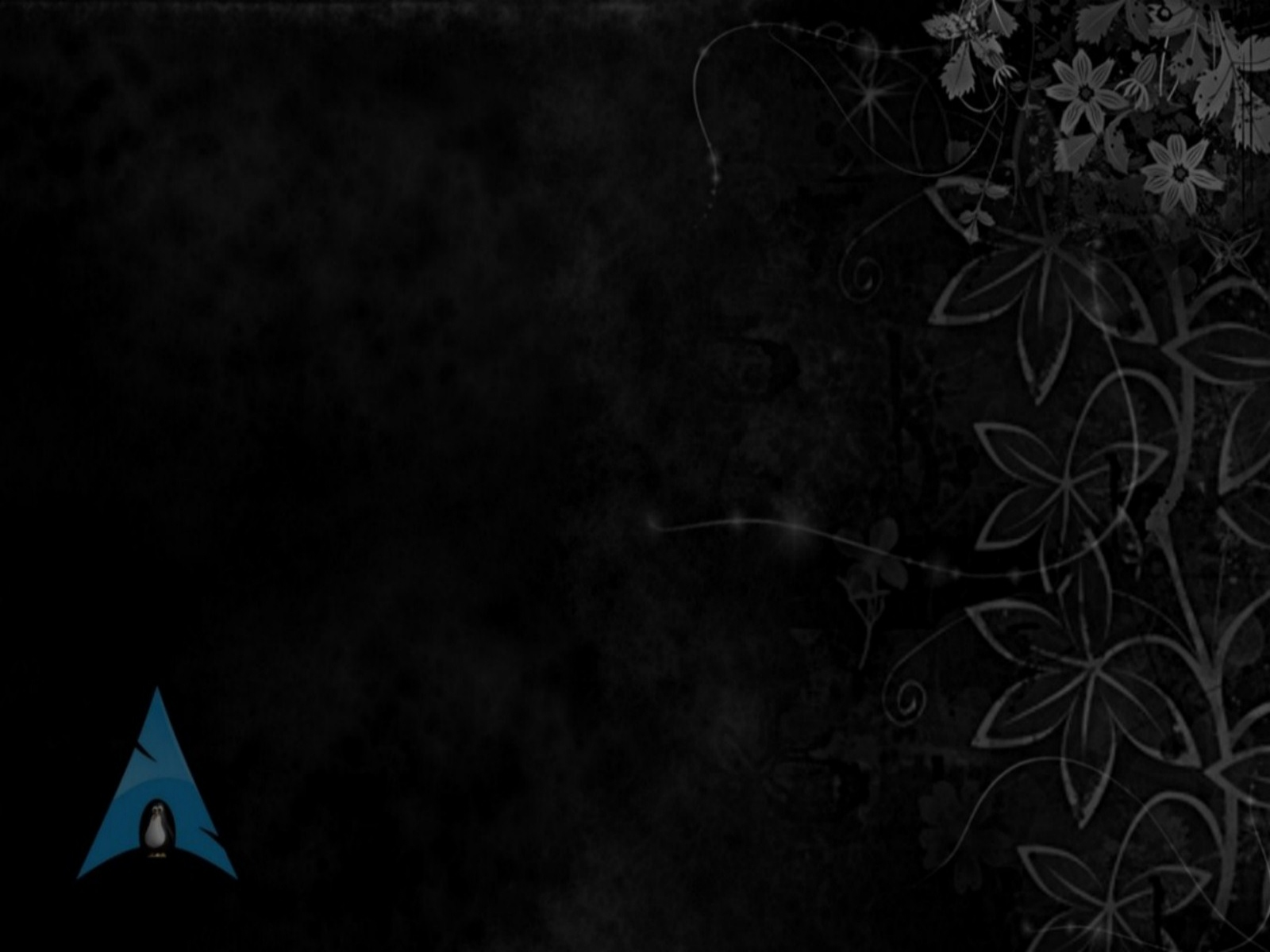 Dark Arch Linux Wallpaper Black Arch Linux Widescreen Background 1600x1200