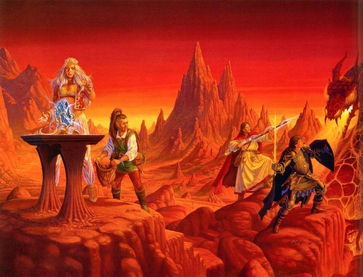 Dragonlance Wallpapers 1158x885