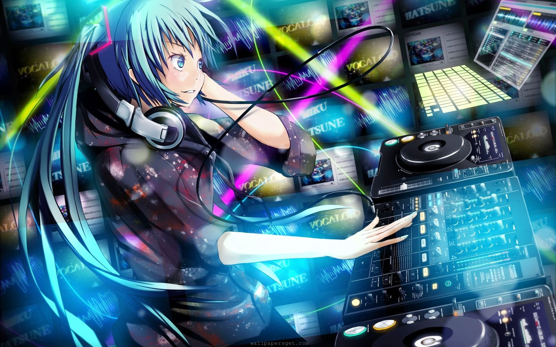 DJ Computer Wallpaper PC Wallpaper WallpaperLepi 1920x1200
