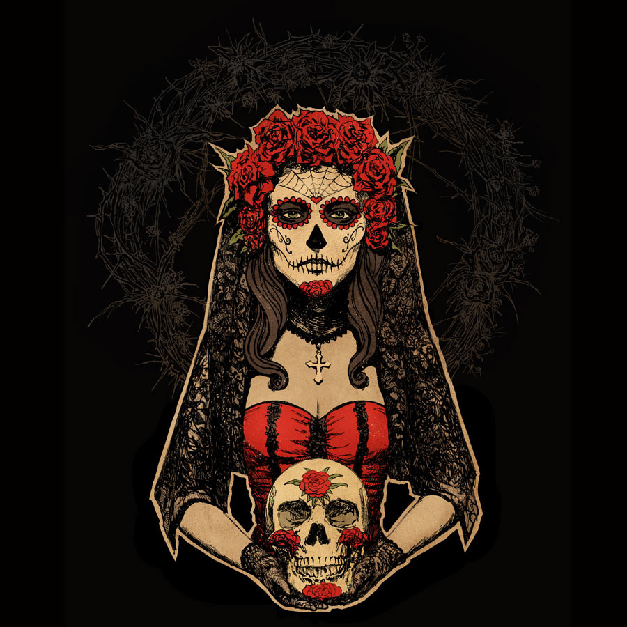 Free Download Day Of The Dead Hd Wallpaper Background Images