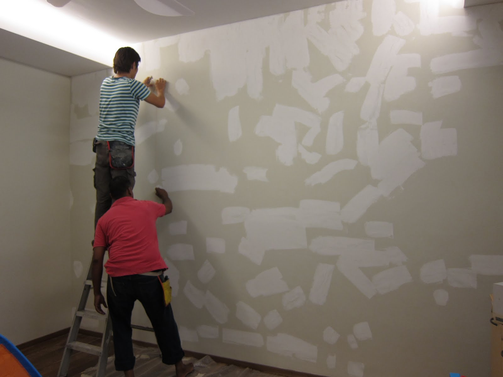 all the wallpaper has been stripped from the wall the walls will 1600x1200