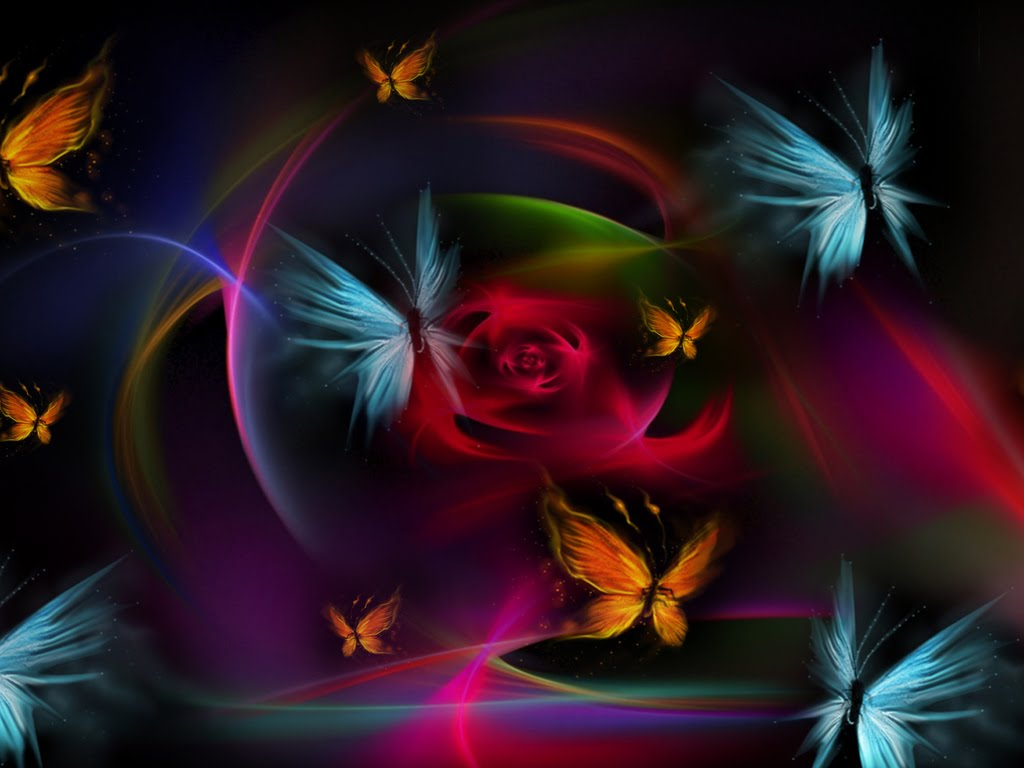 COLORFUL BUTTERFLIES wallpaper   ForWallpapercom 1024x768