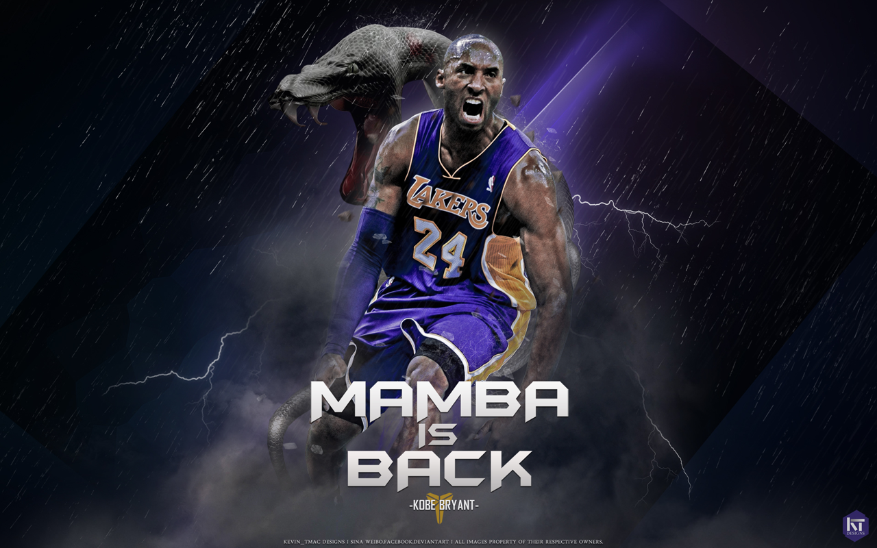 Kobe the black mamba