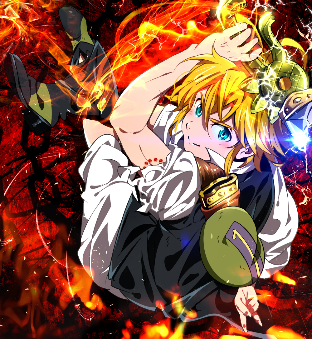 98 Meliodas Nanatsu No Taizai Wallpapers On Wallpapersafari