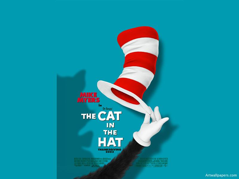 The Cat In the Hat Artwallpaperscom movie 800x600 800x600