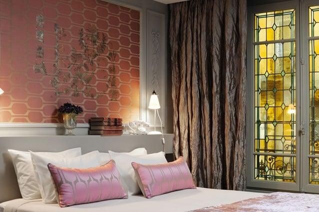 wallpaper bedroom feature - photo #49