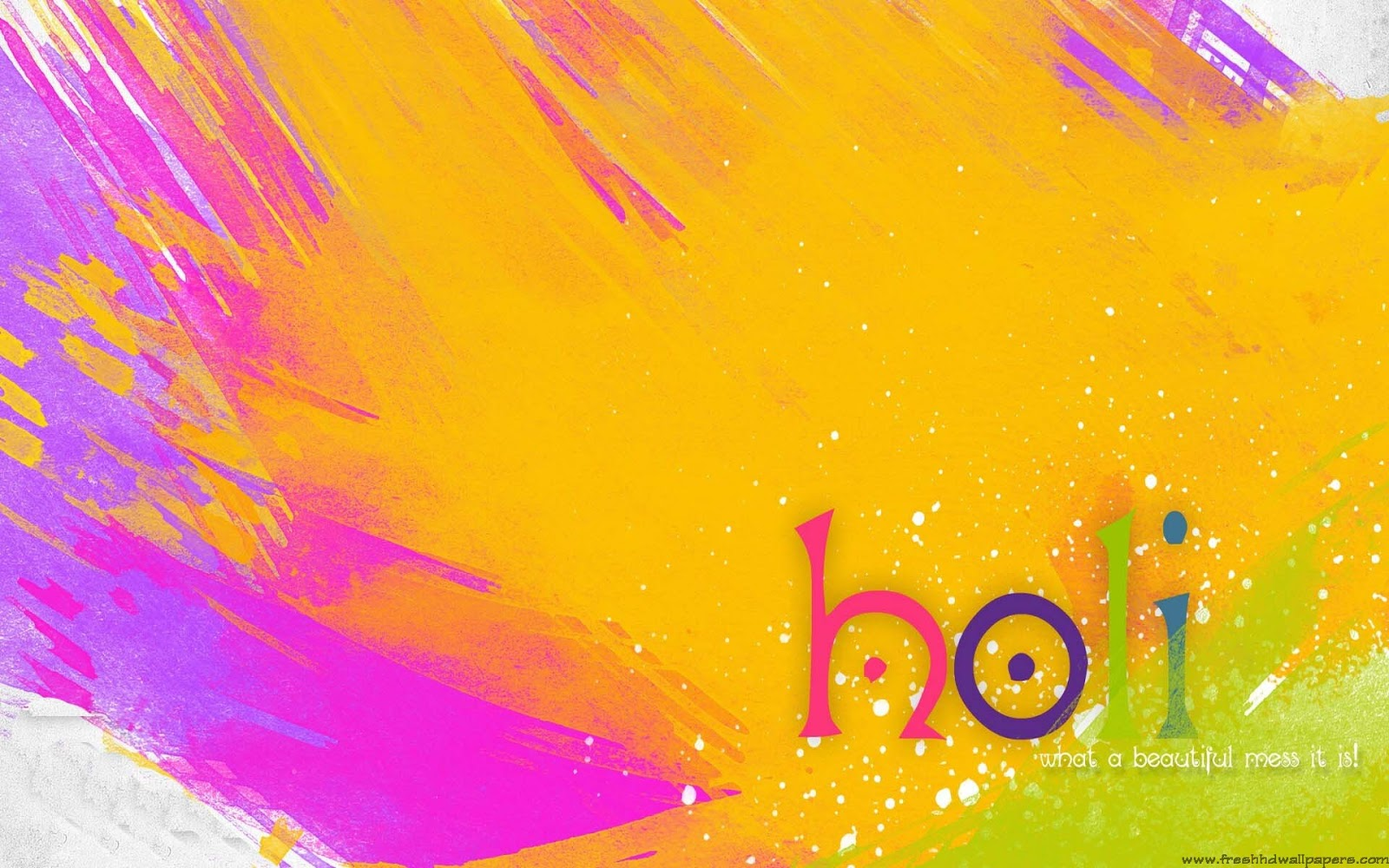 Fresh HD Wallpapers Happy Holi 2013   Fresh HD Wallpapers 1600x1000