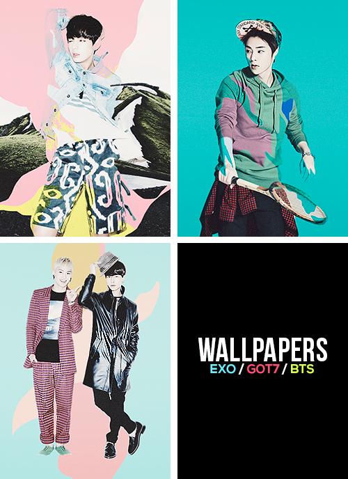 WALLPAPERS   EXO GOT7 BTS [ x ] 500x688