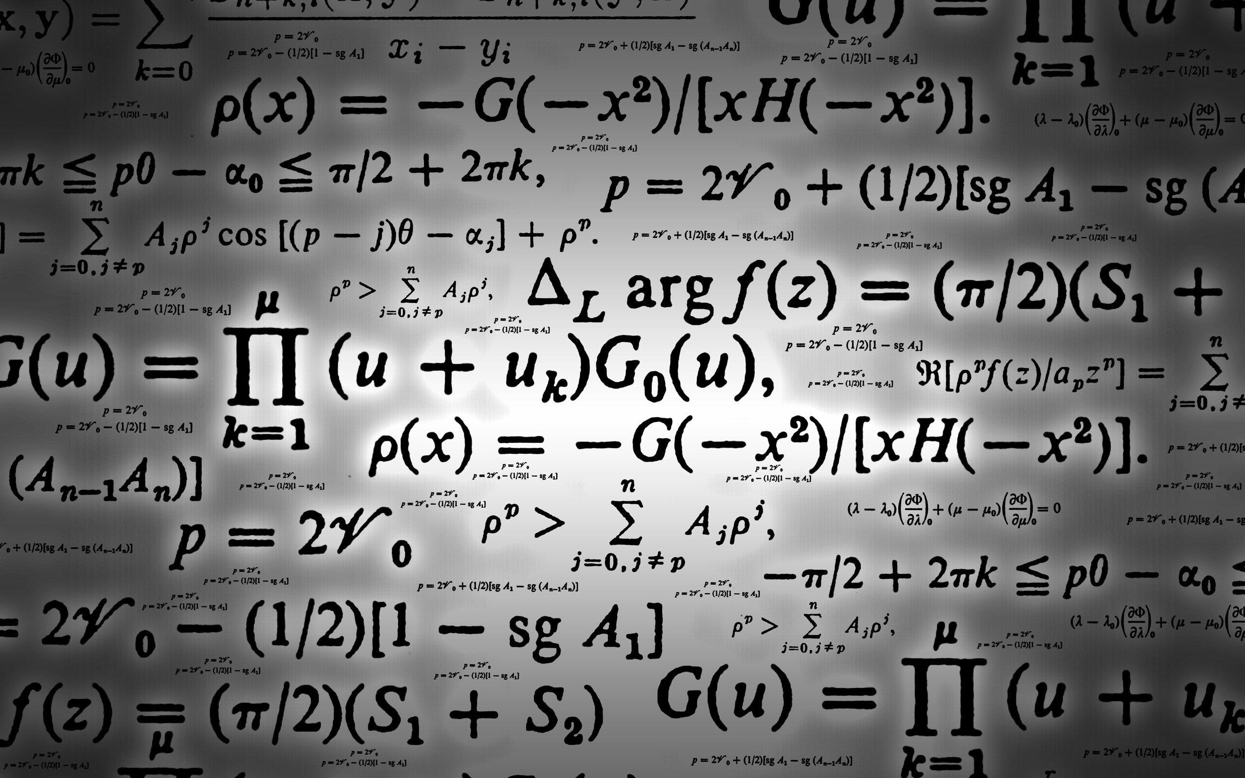 Math equations wallpaper 2560x1600 1425 WallpaperUP 2560x1600