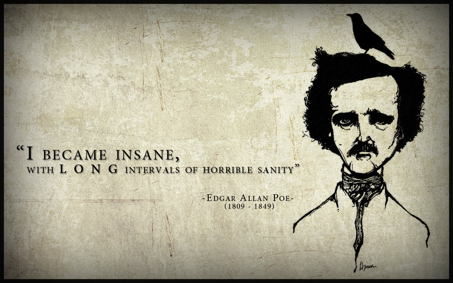 Edgar Allan Poe Wallpaper Images Pictures   Becuo 900x563