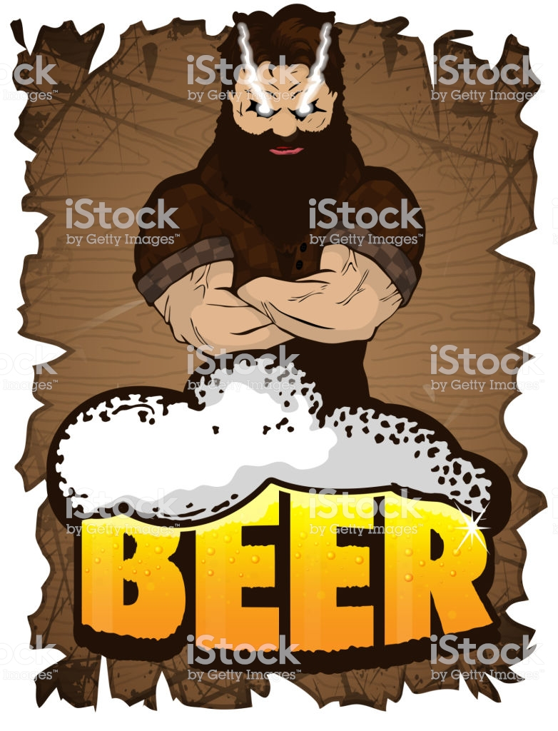 Beer For Real Men Poster On A Wooden Background Beer For Strong 782x1024